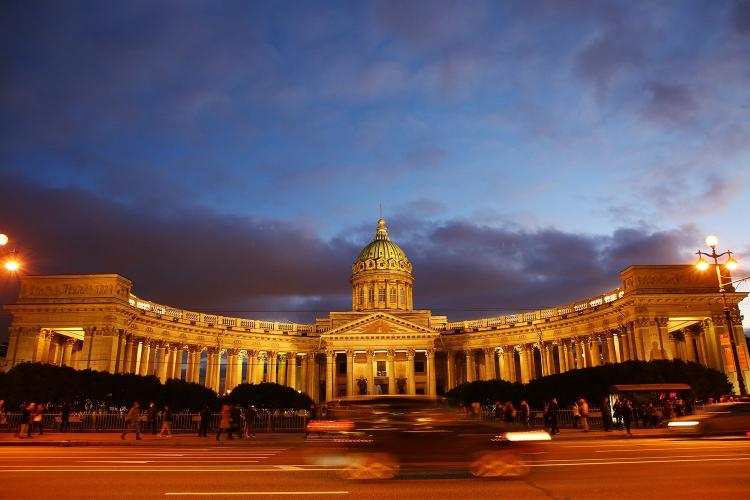 カザン大聖堂 サンクトペテルブルク
