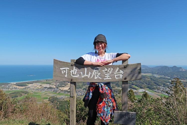 糸島富士 可也山 登山