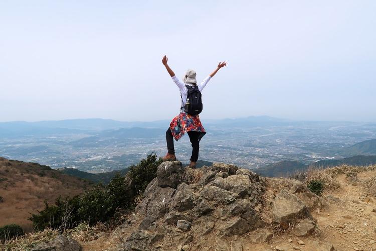 福智山 登山 北九州