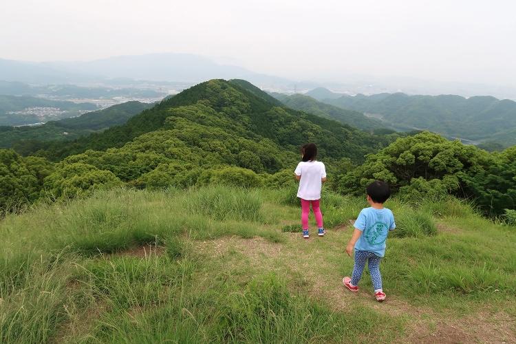 立花山〜三日月山縦走