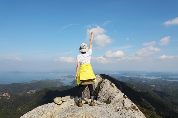 霊峰白嶽 対馬 登山