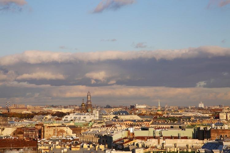 サンクトペテルブルク 見晴らし 展望台