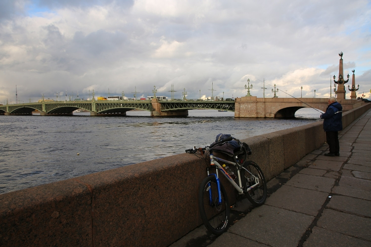 サンクトペテルブルク ネヴァ川