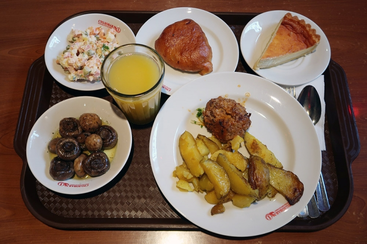 ロシア サンクトペテルブルク レストラン