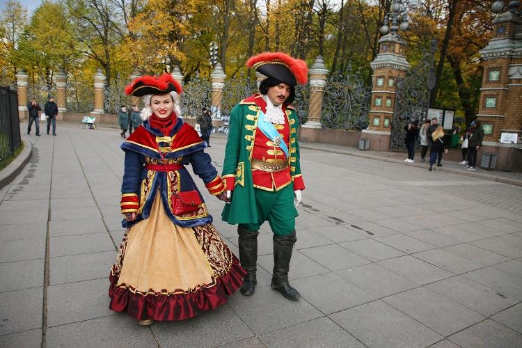 ミハイロフスキー公園 サンクトペテルブルク