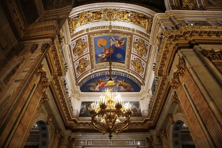 サンクトペテルブルク イサク聖堂