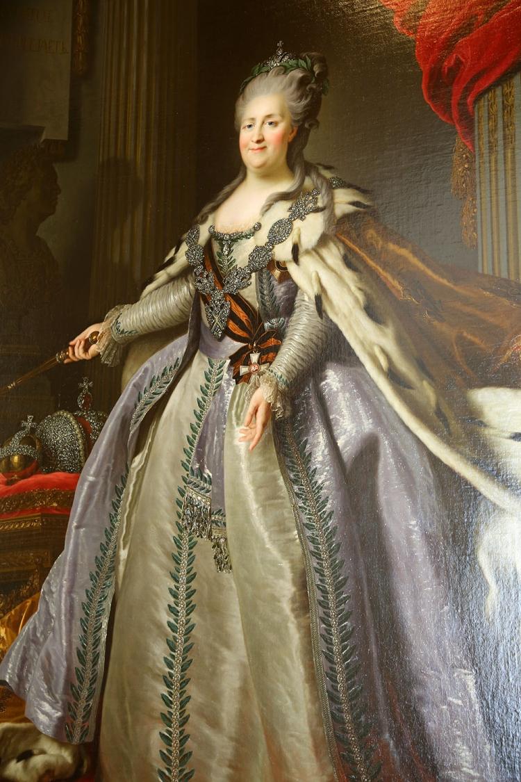 エカテリーナ2世 ロシア 女帝