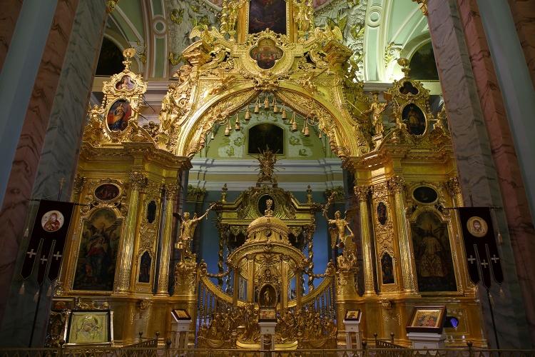 ペトロハヴロフスク聖堂 サンクトペテルブルク