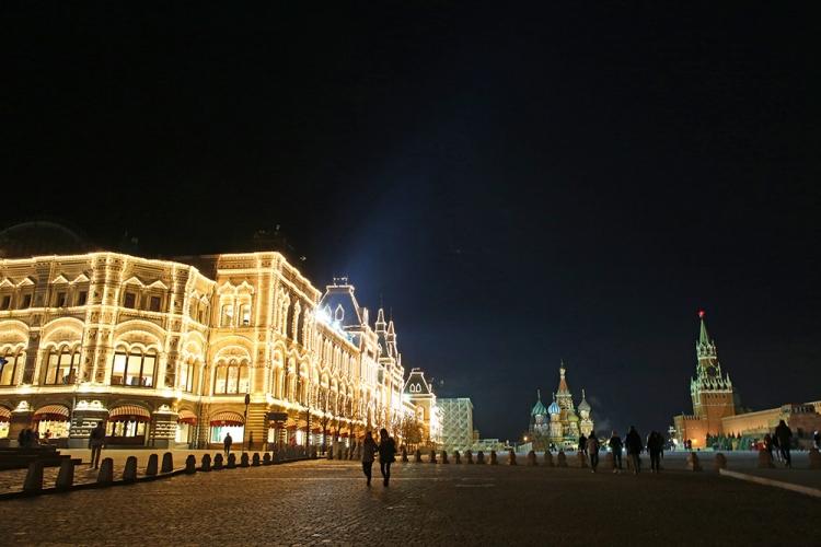 モスクワ グム百貨店