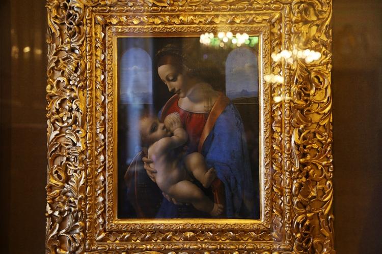 レオナルド・ダ・ヴィンチ リッタの聖母