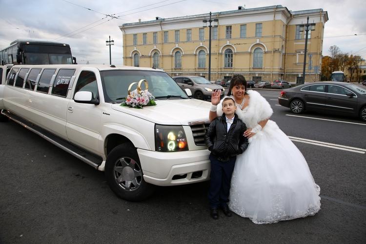サンクトペテルブルク ウェディング 花嫁