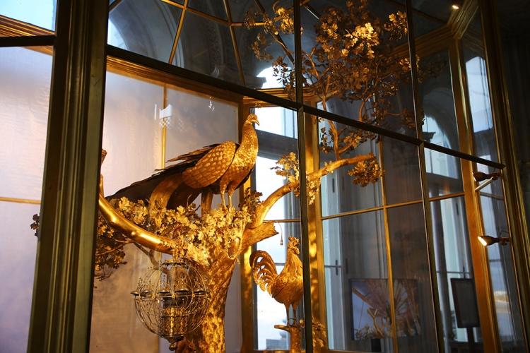 孔雀の時計 エミルタージュ美術館