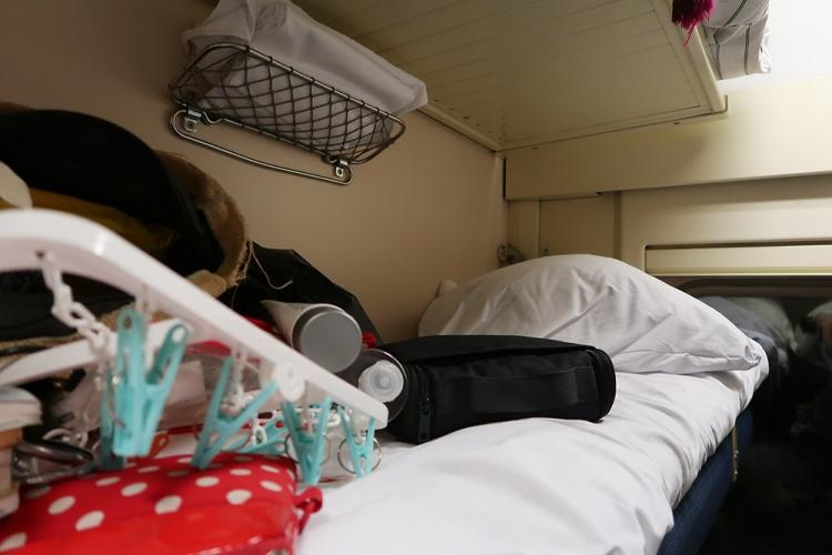 シベリア鉄道 アッパー ベッド
