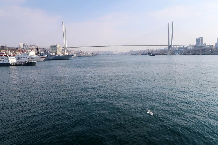 ウラジオストク 港