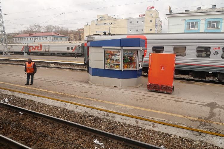 シベリア鉄道 キオスク