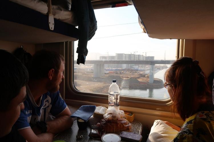 シベリア鉄道 出会い