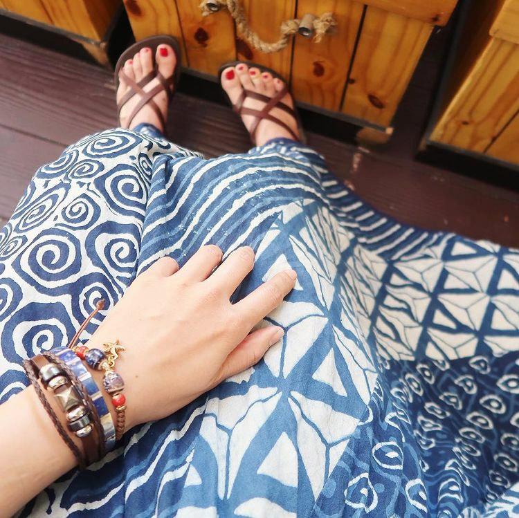 バンコク 市場 ファッション