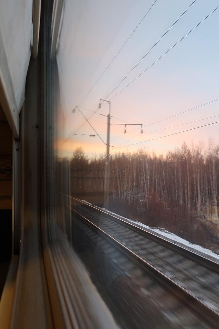シベリア鉄道 景色