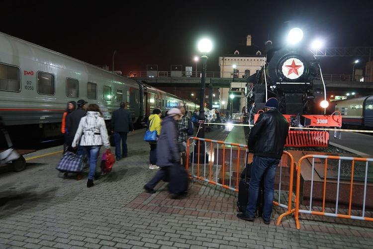 シベリア鉄道 ウラジオストク 駅