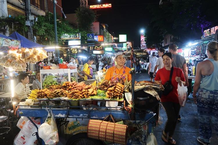 カオサン バンコク タイ 屋台