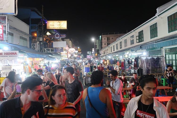 カオサンロード バンコク タイ