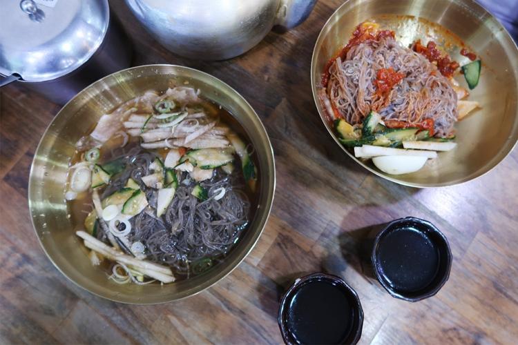 韓国冷麺 釜山冷麺 ミルミョン