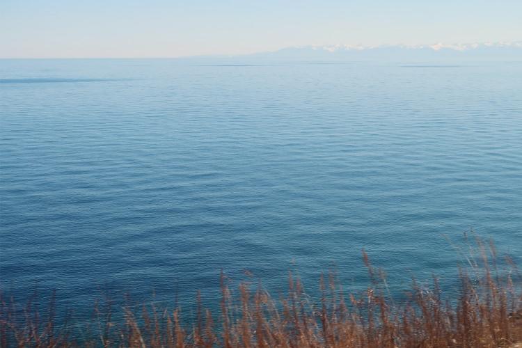 シベリア鉄道 バイカル湖