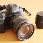 旅の相棒 カメラたち